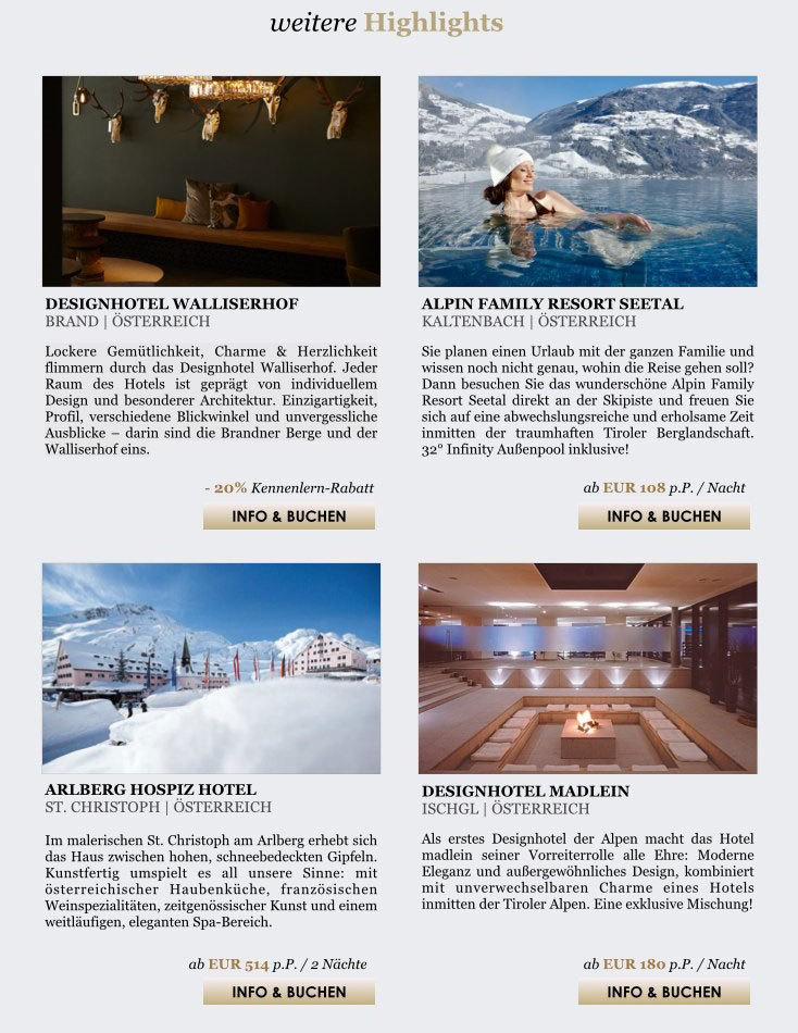 casino austria newsletter